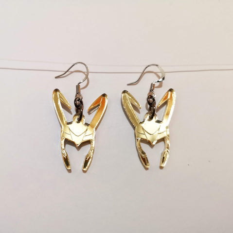 Loki Helmet Earrings