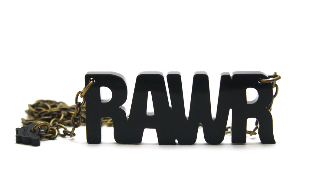 RAWR necklace