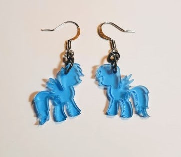 Rainbow Dash Earrings - My Little Pony