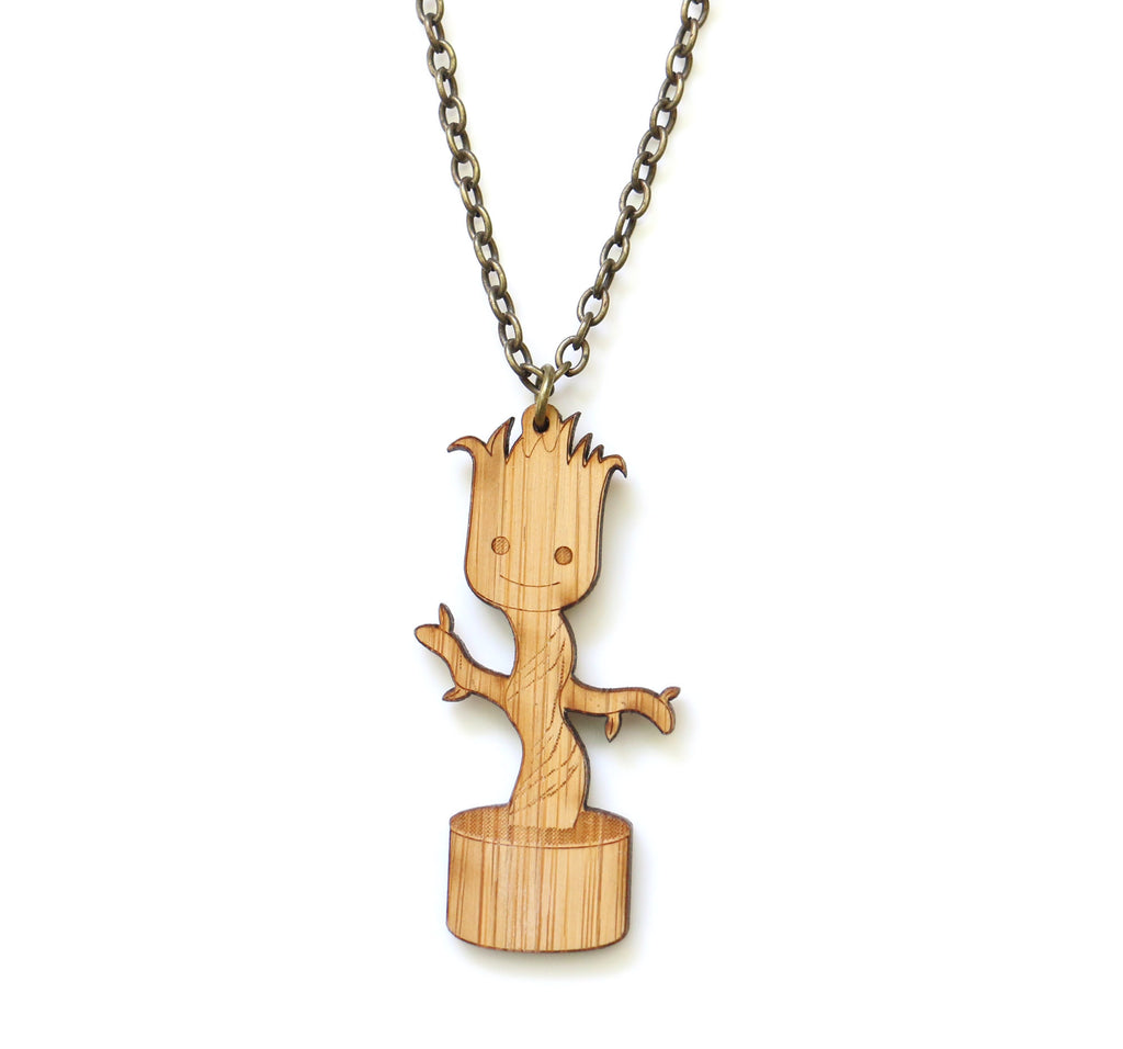 Baby Groot Necklace
