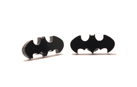 Holy Batman Stud Earrings