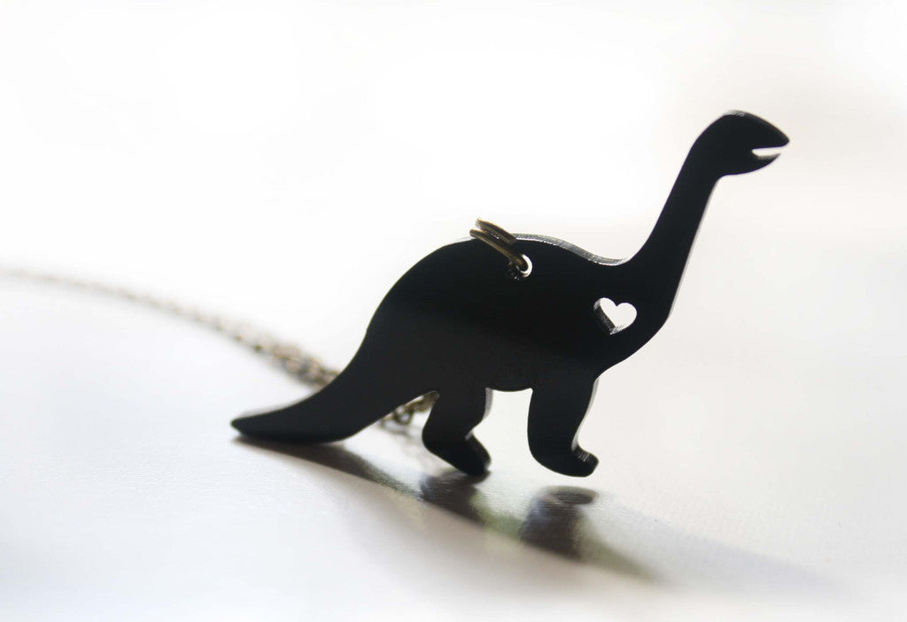 Dinosaur Love - Brontosaurus necklace