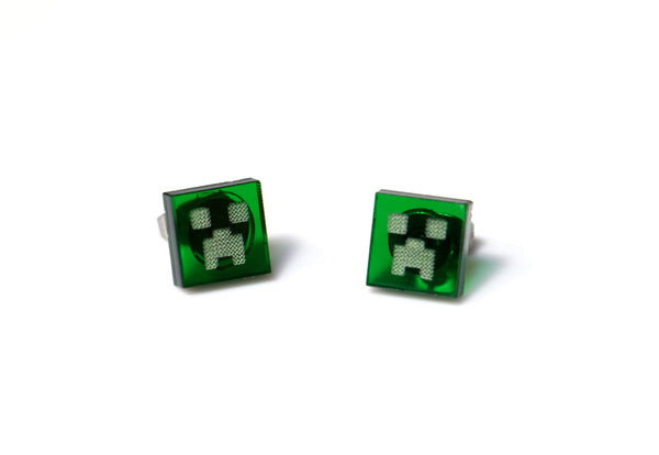 Minecraft Creeper Studs