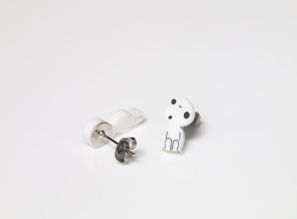 Kodama Tree Spirits Stud Earrings