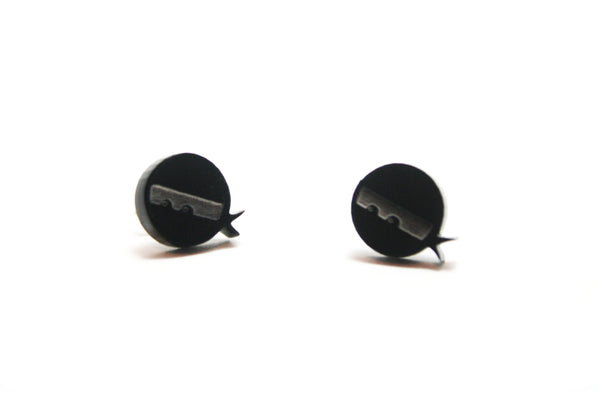 Mini Ninja Stud Earrings