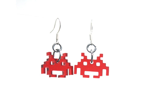 Invader Earrings