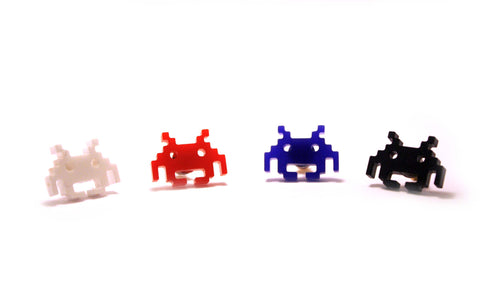 Space Invader Studs