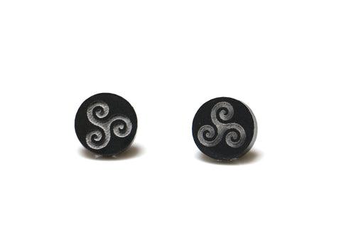 Teen Wolf Triskelion Stud Earrings