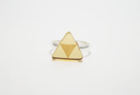 Golden Triforce Ring