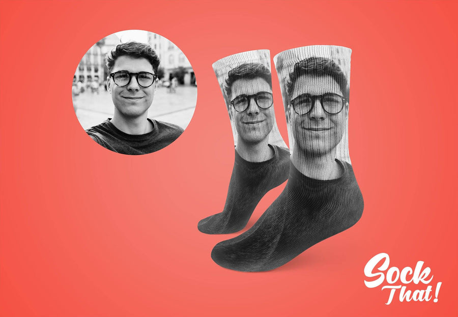 Custom Photo Socks