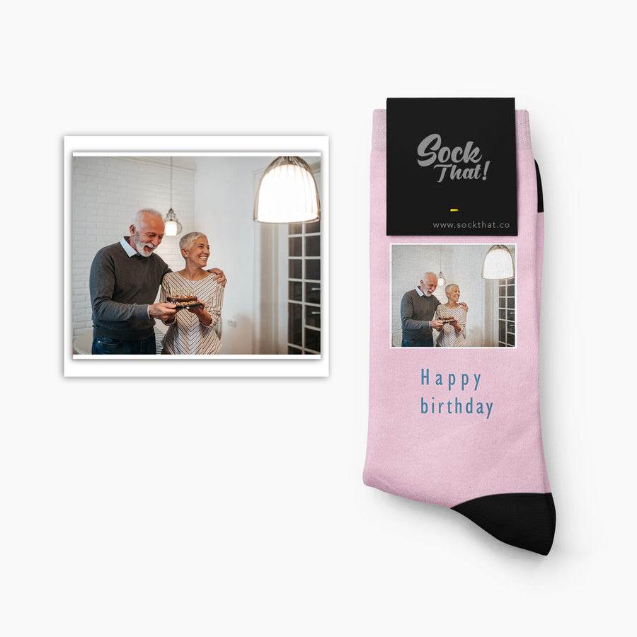 Custom Birthday Socks