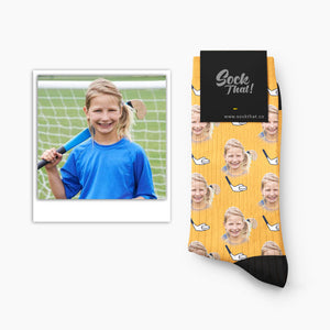 Custom Hockey Face Socks