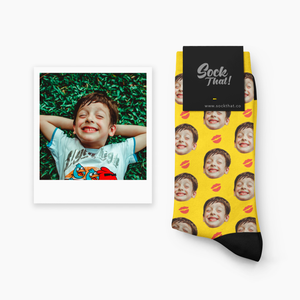 Custom Faces & Kisses Socks 💋 - Sock That!