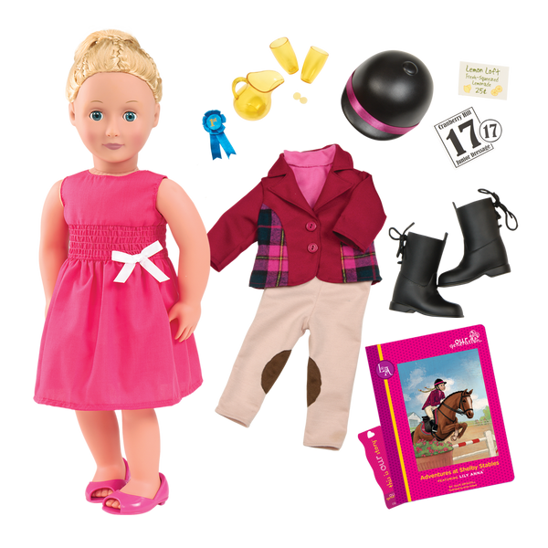 Lily Anna Deluxe Our Generation 18-inch Doll