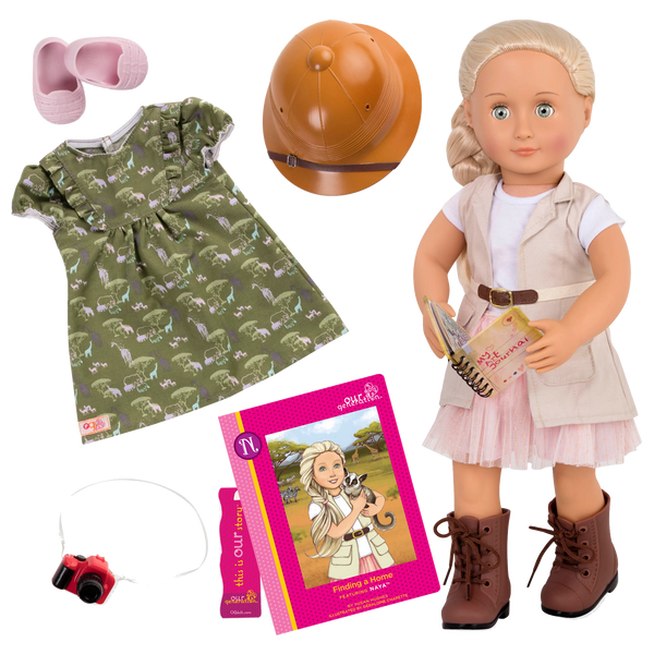 Our Generation Deluxe 18-inch Doll – Naya