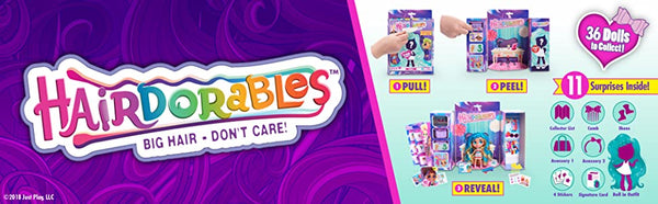 Hairdorables ‐ Collectible Surprise Dolls and Accessories: Series 1