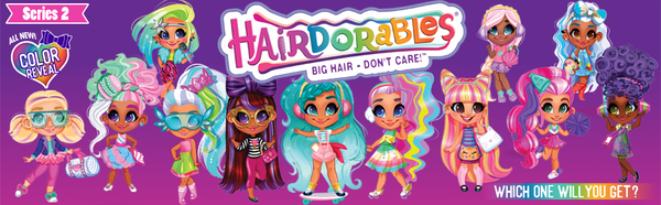 Hairdorables ‐ Collectible Surprise Dolls and Accessories: Series 2