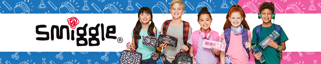 Smiggle, the ultimate creators of colourful, fun, fashion-forward kids stationery, bags, backpacks, lunchboxes and drink bottles. Fuel your creative spirit, shop instore or online and find your perfect gift for yourself or someone else!