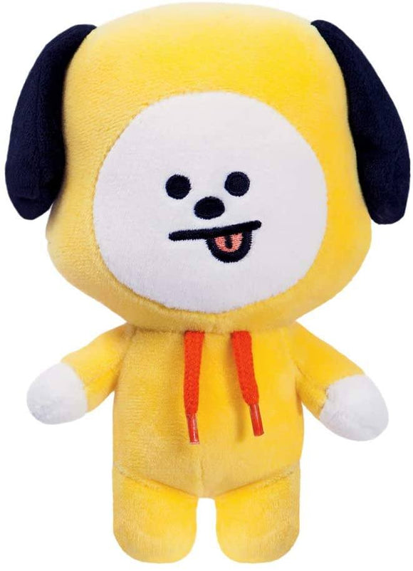 AURORA BT21 Official Merchandise, CHIMMY Soft Toy, Small, 61325, Yellow - TOYBOX Toy Shop