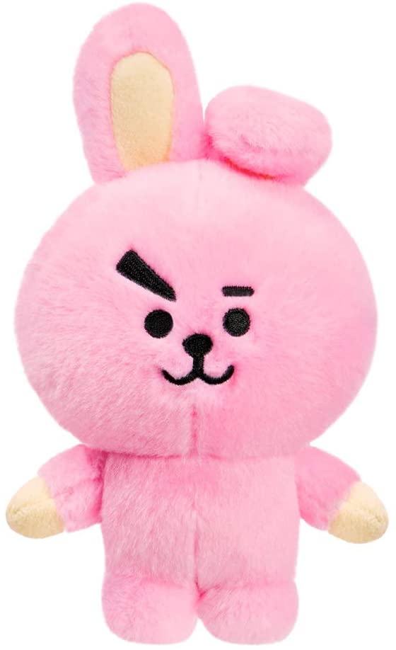 AURORA BT21 Official Merchandise, Cooky Soft Toy, Small, 61326, Pink - TOYBOX Toy Shop