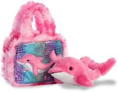 AURORA Fancy Pal Dolphin 8-inch 32824 Pink - TOYBOX Toy Shop