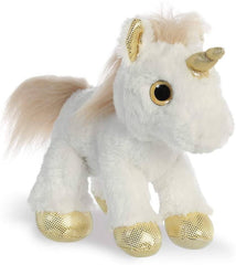 Aurora Sparkle Tales Unicorn Soft Toy Soft Toys Aurora Gold
