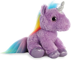 Aurora Sparkle Tales Unicorn Soft Toy Soft Toys Aurora Purple