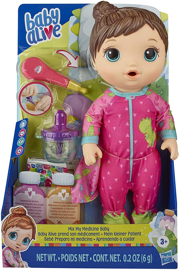 Baby Alive E6942 Mix My Medicine Baby Doll - TOYBOX Toy Shop
