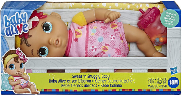 Baby Alive E7599 Sweet n Snuggly Baby - TOYBOX Toy Shop