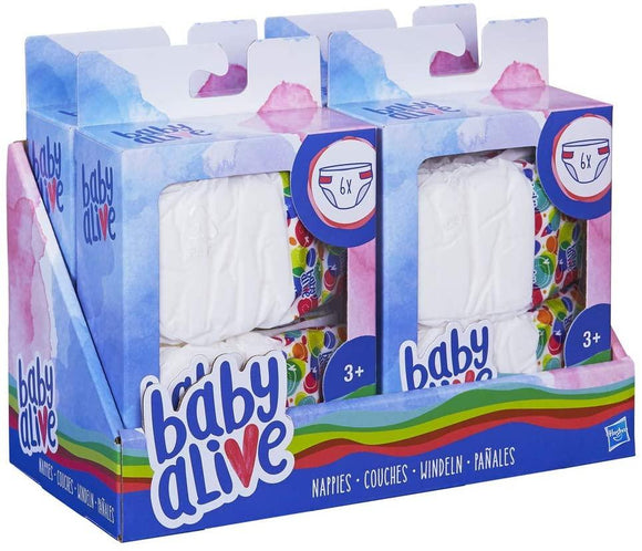 Baby Alive Nappies Refill Pack - TOYBOX Toy Shop
