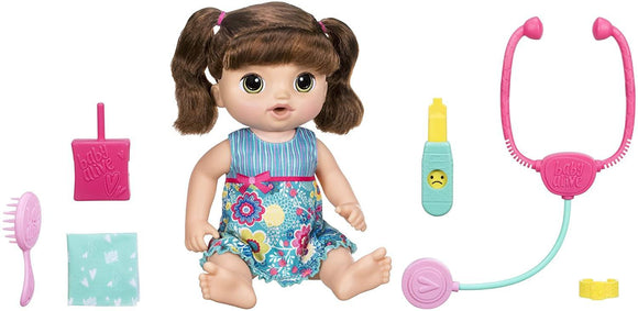 Baby Alive Sweet Tears Baby - Brown Straight Hair - TOYBOX Toy Shop