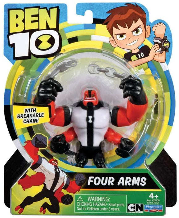 Ben 10 BEN00710 Four Arms Action Figure - TOYBOX Toy Shop