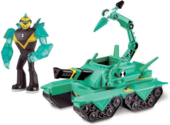 Ben 10 BEN20201 Diamond Head Power Tank - TOYBOX Toy Shop
