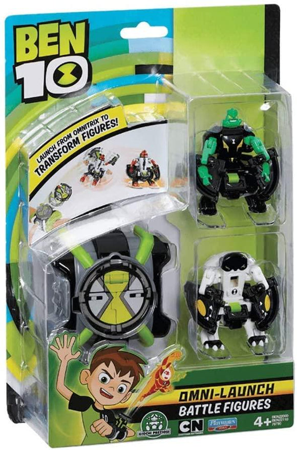 Ben 10 BEN22000 Omni Launcher & Battle Figures - TOYBOX Toy Shop