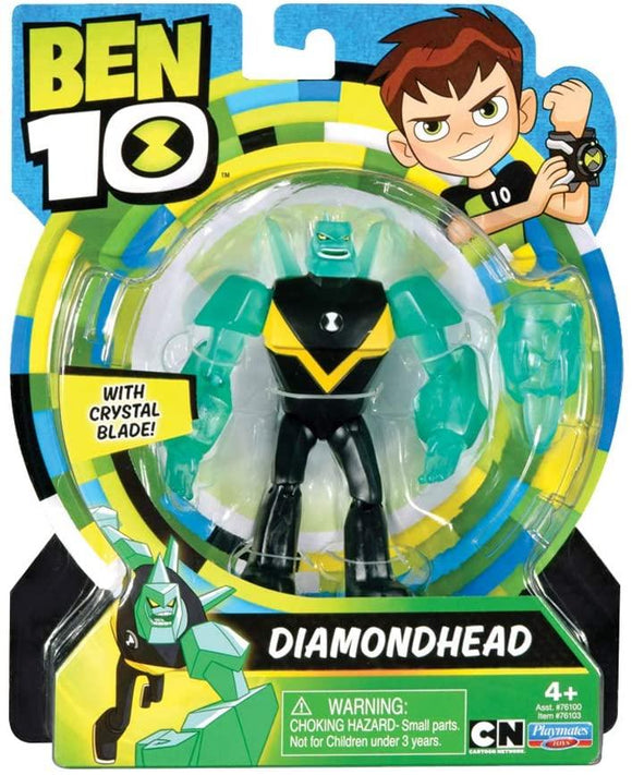 Ben 10 Diamondhead Action Figure - TOYBOX Toy Shop