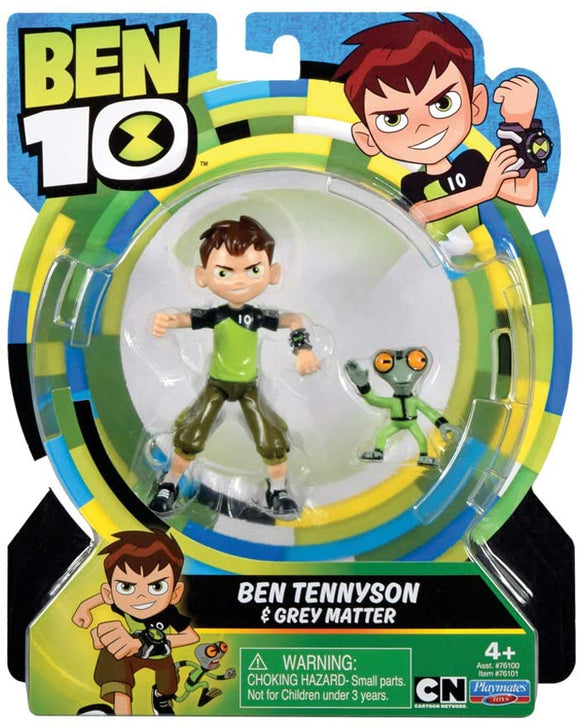 Ben 10 Grey Matter Action Figure Twin Pack - TOYBOX Cyprus