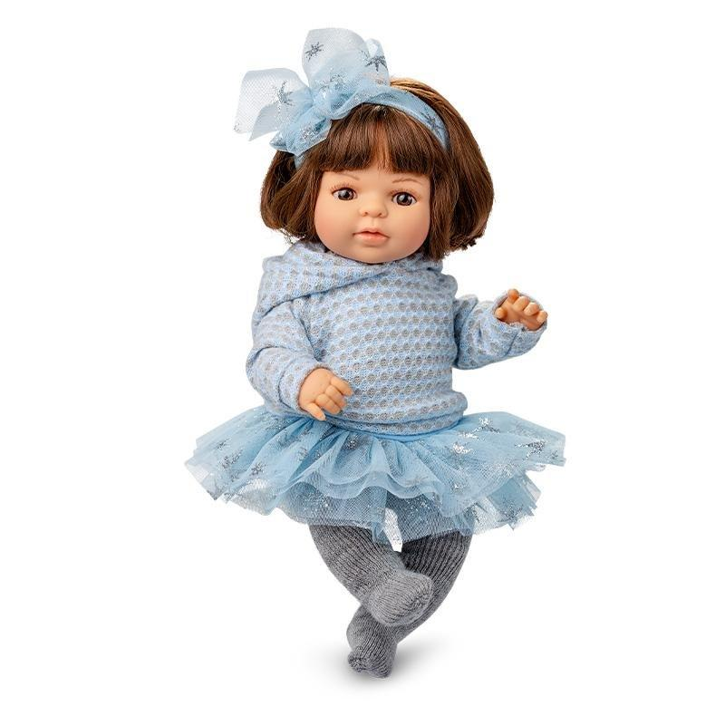 Berjuan 1067 Laura Doll in Blue 40cm - TOYBOX Toy Shop