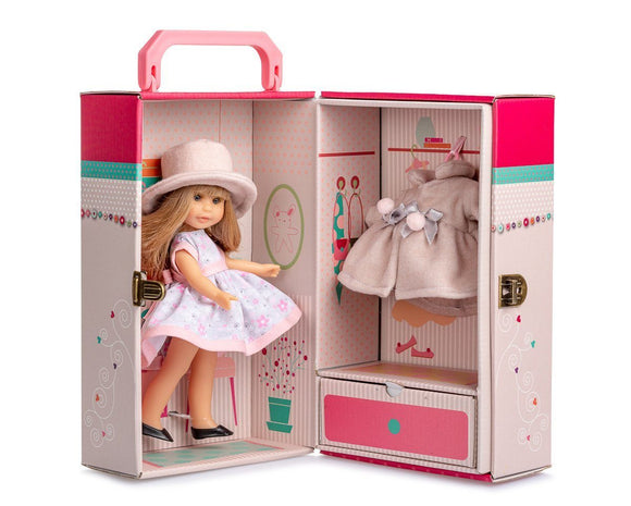Berjuan 11016 Irene Doll With Blonde Hair in a Case 22cm - TOYBOX Toy Shop