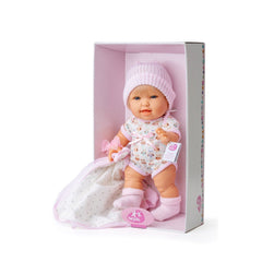 Berjuan 3126 Boutique Dolls Andrea 38 cm Pink - TOYBOX Toy Shop