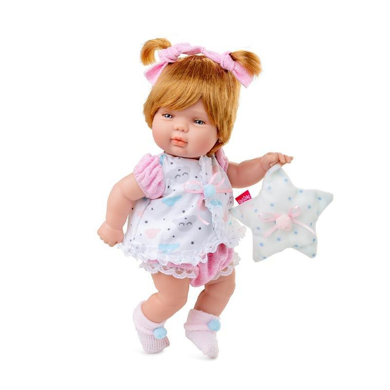 Berjuan Doll 0490 Baby Smile 30cm Pink - TOYBOX Toy Shop
