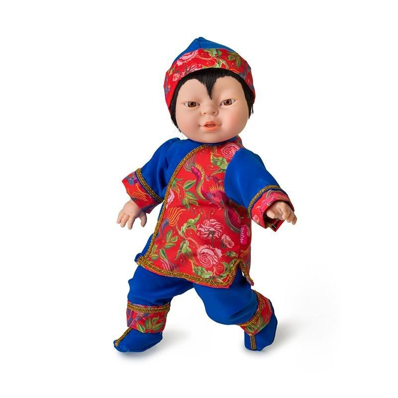Berjuan Doll 9067 Friends of the World 38cm - TOYBOX Toy Shop