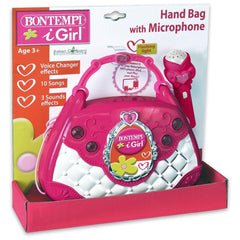Bontempi Hand Bag with Microphone 424271 - TOYBOX Cyprus