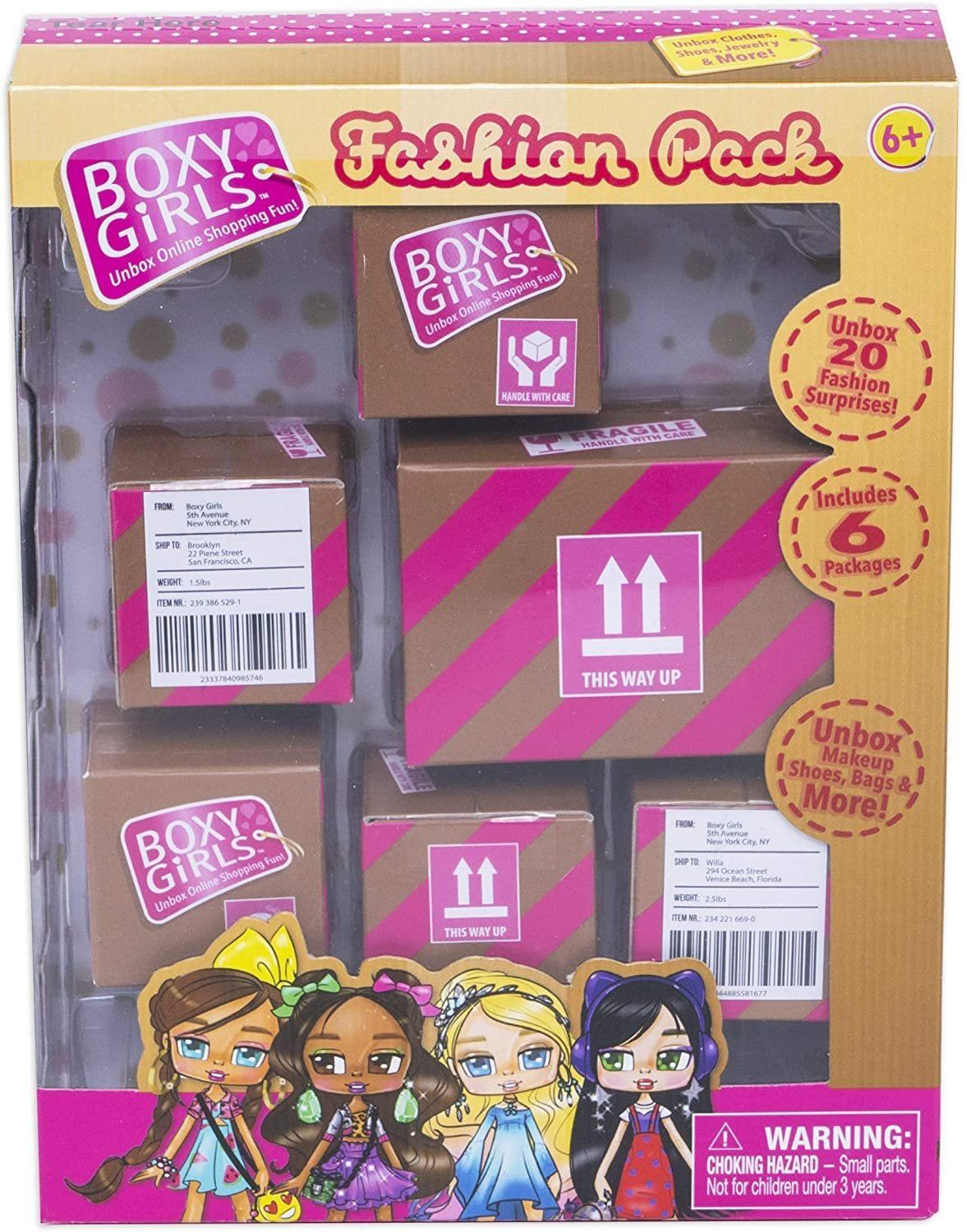 Boxy Girls Fashion Pack - TOYBOX Toy Shop
