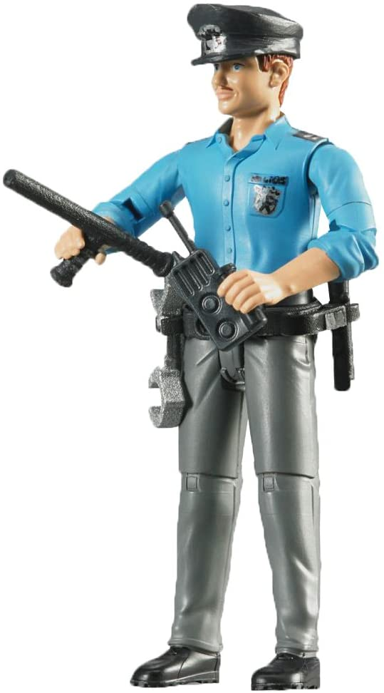 Bruder 060050 Bworld Policeman Light Skin With Accessories - TOYBOX Toy Shop
