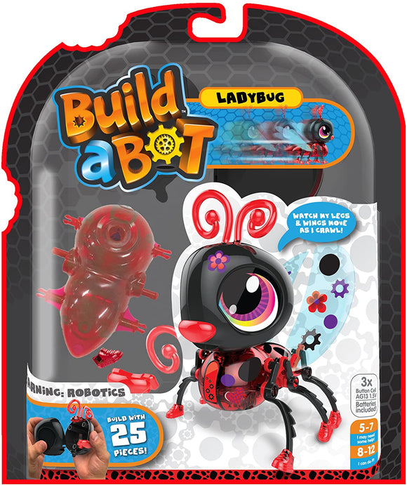 Build a Bug Robot Toy Ladybug Education Build a Bot