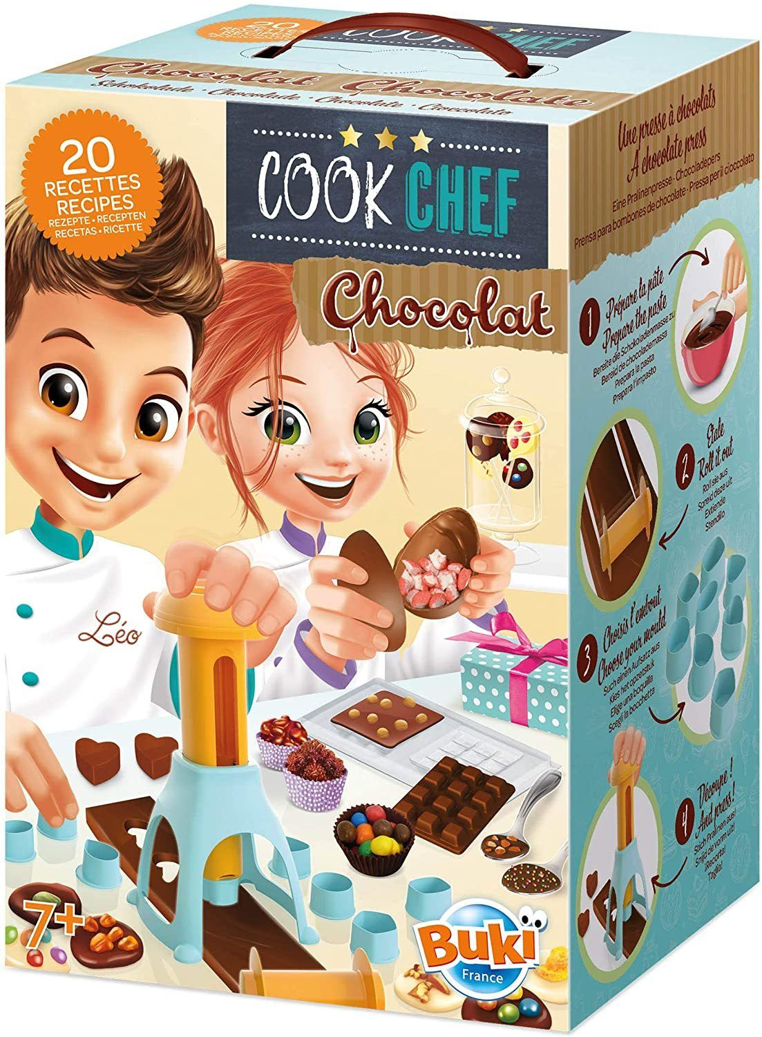 BUKI France 7166 - Cook Chef Chocolate - TOYBOX Cyprus