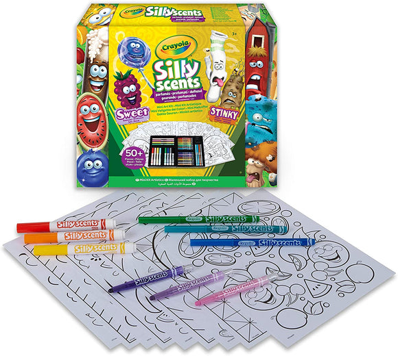 Crayola Silly Scents Mini Inspiration Art Case Coloring Set - TOYBOX Cyprus