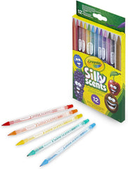 Crayola Silly Scents Twistables Pencils 12 - TOYBOX Toy Shop