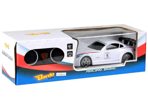 Dardo Remote Controlled RC BMW Racing Car White - TOYBOX Cyprus