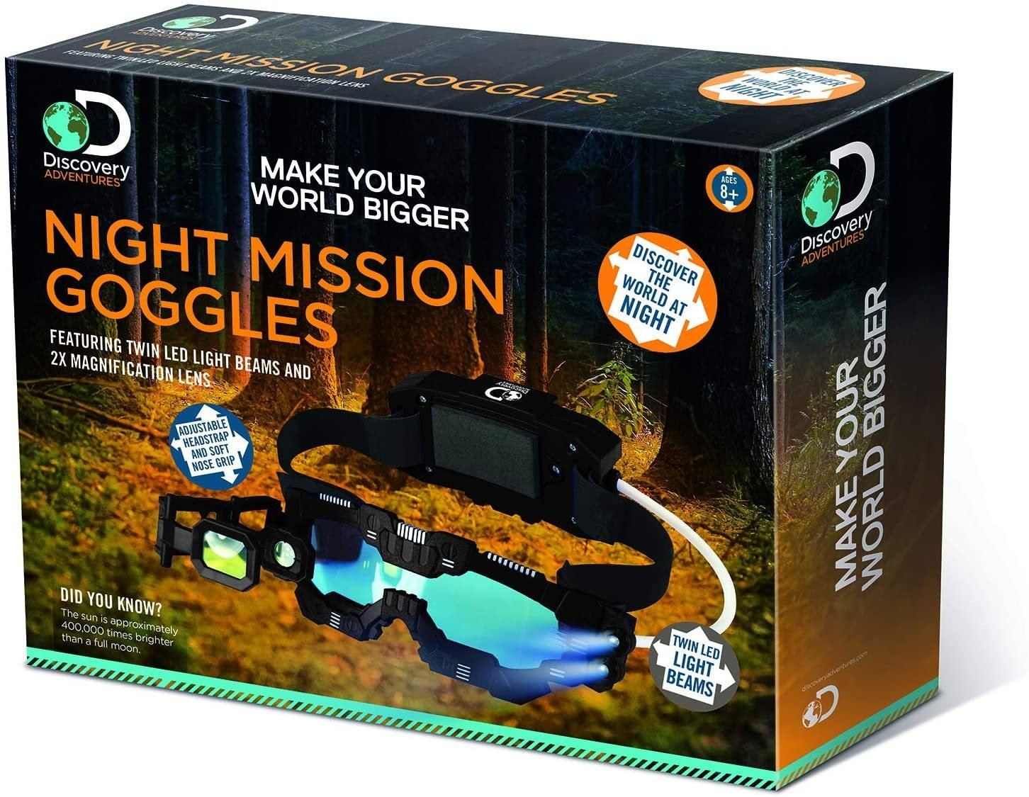 Discovery Night Mission Goggles - TOYBOX Toy Shop